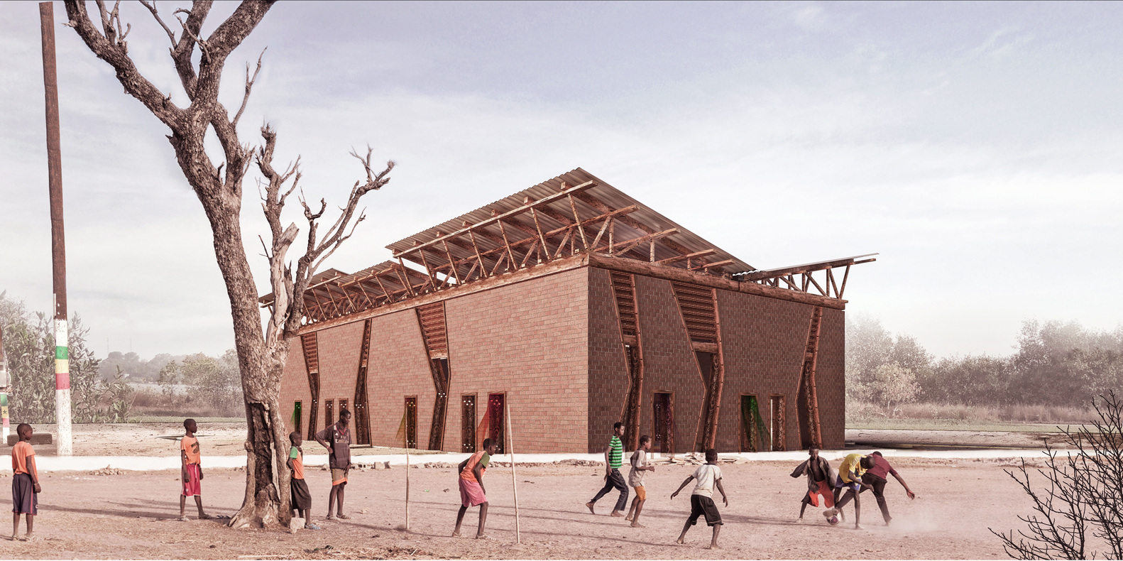 AMKNA's Ode to Africa Shortlisted for the 2018 World Architecture Festival Award